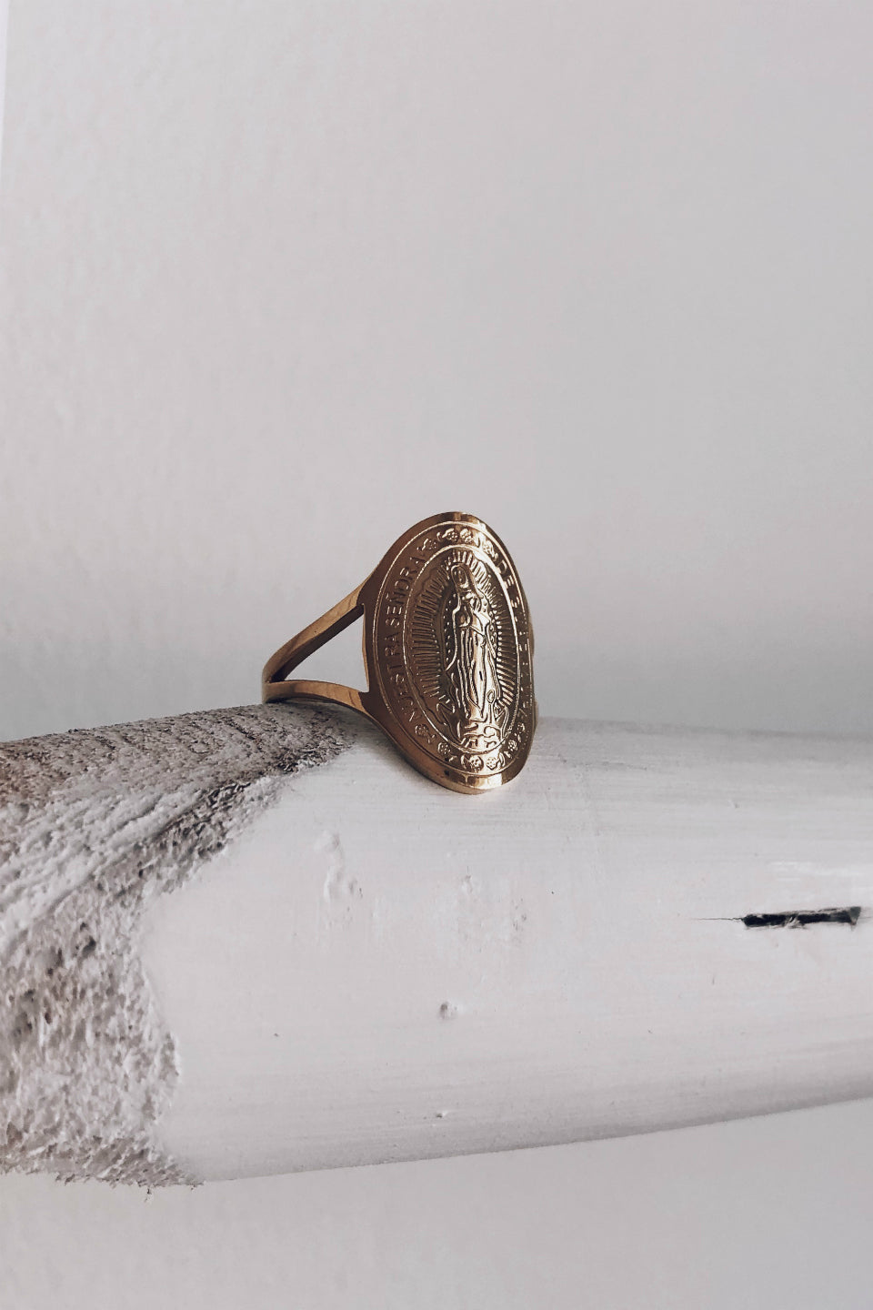 All Good Gold Ring