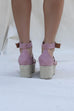 Last Dance Dusty Rose Platform Espadrilles