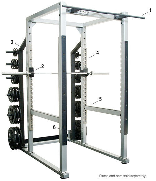 ST Power Rack w/ Hook Plates  - York
