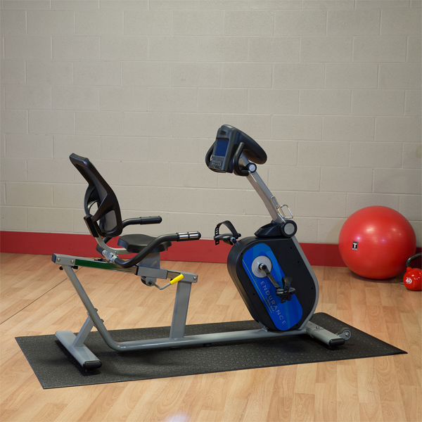 Body-Solid - B4R Recumbent Bikes, plug in