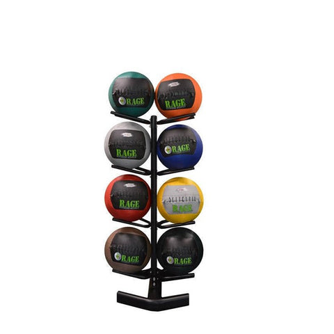 RAGE Fitness Medicine Ball Rack