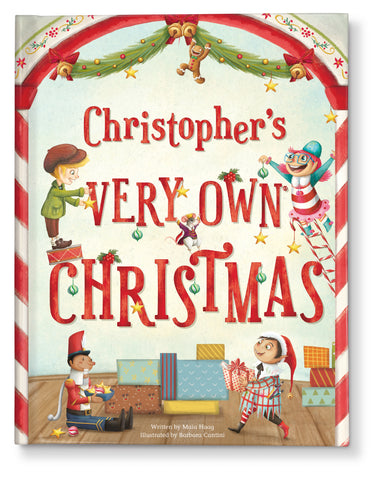 My Very Own Christmas Personalized Story Book