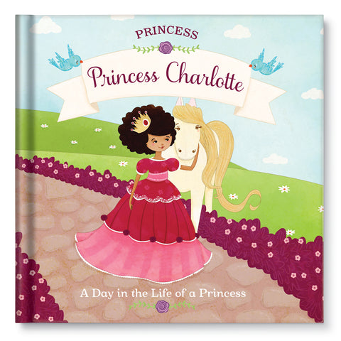 Princess: A Day in the Life of a Princess Personalized Story Book