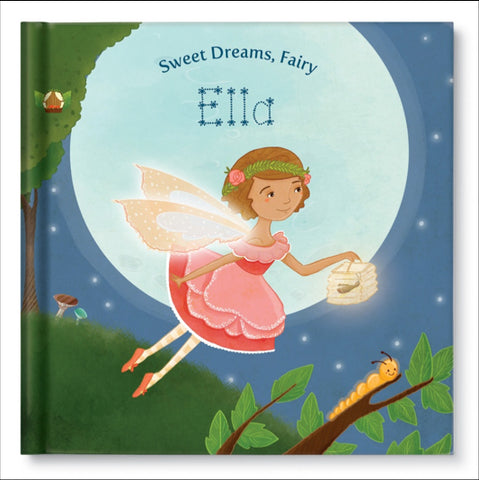 Sweet Dreams Fairy Personalized Story Book