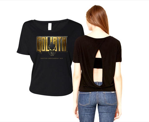 2019 Open Back Shirt - Goliath