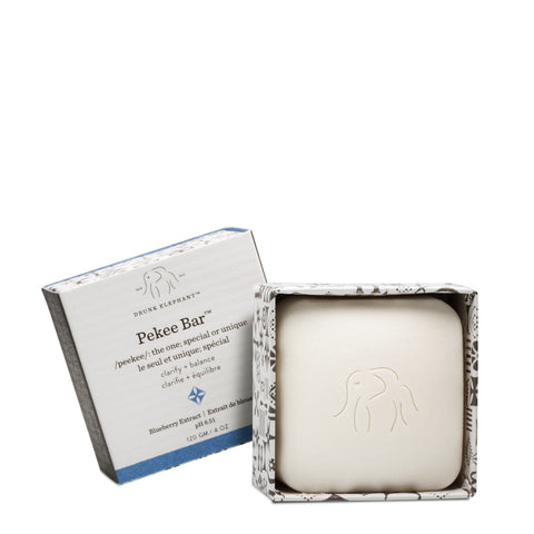 Pekee Bar cleansing bar with outer package open