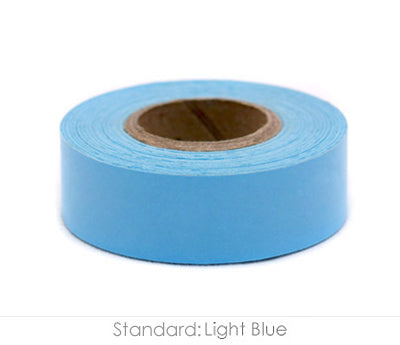 "0.75"" Removable Light Blue Labeling Tape"
