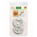 Crab and Fish Mold by Sugar Buttons
