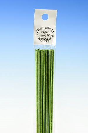 Hamilworth 28 gauge Nile Green Wire