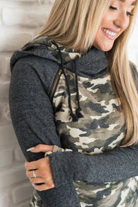 All Good in the Hoodie (Camo Double Hood)