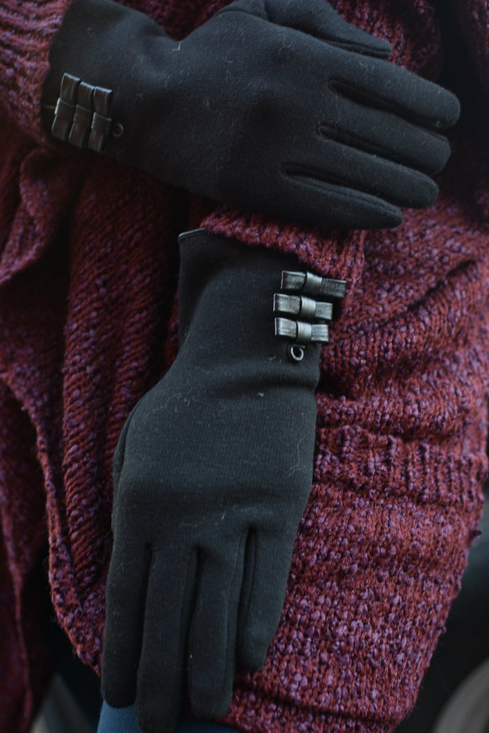 Baby It's Cold Outside Touch Screen Gloves (Black)