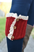 Load image into Gallery viewer, Short Stuff Boot Cuffs (Red)
