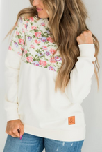 Load image into Gallery viewer, Ampersand Ave‰™ Pullover - Cream Floral