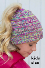 Load image into Gallery viewer, C. C Kids Messy Bun Beanie (Additional Colors)
