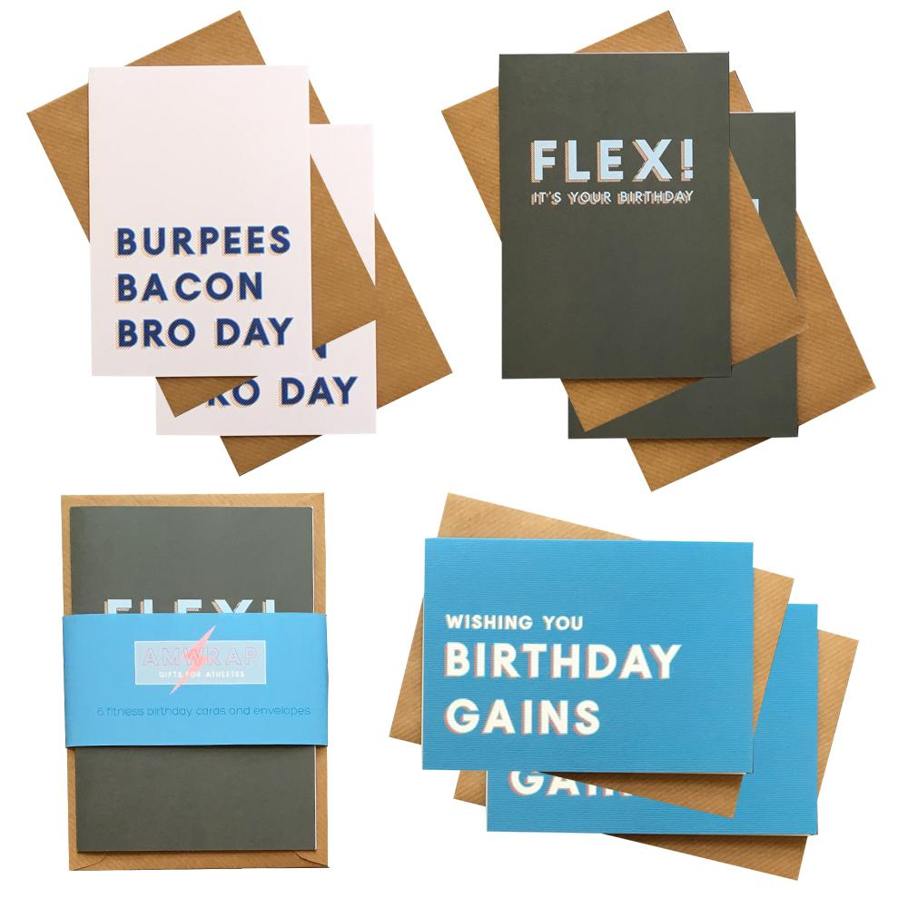 AMWRAP Birthday Card Pack