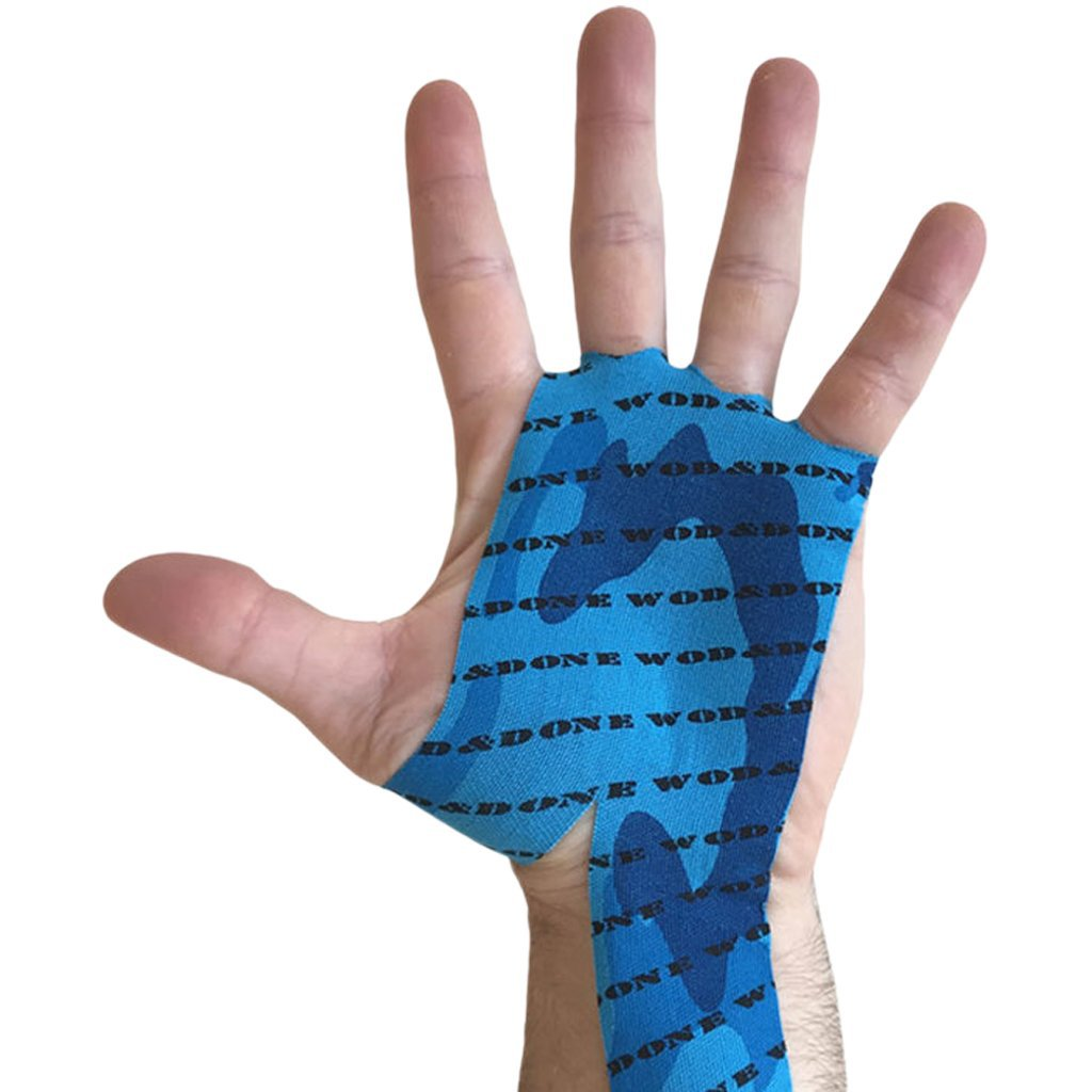 Wod & Done Hand Protection Blue Camo