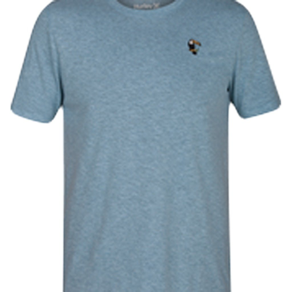 T-Shirts & Vests - Hurley Toucan Tri-Blend Short Sleeve Noise Aqua