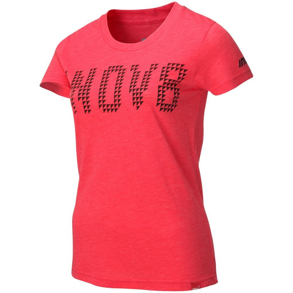 T-Shirts & Vests - Inov8 Womens Tri Blend T-Shirt Barberry