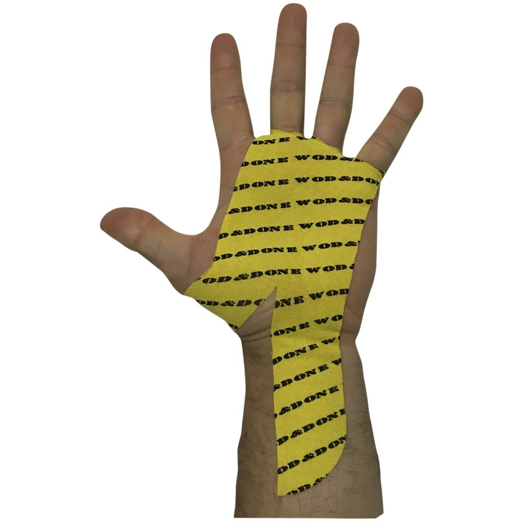Tape - Wod & Done Hand Protection Yellow