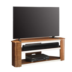 Jual JF708 - Acoustic Corner TV Stand - Walnut