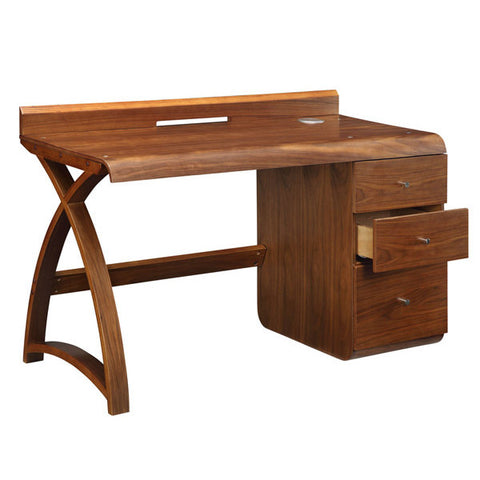 Picture of Jual PC601 - Pedestal Desk - Walnut