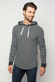 Sportiqe Men's Central Hoodie Black