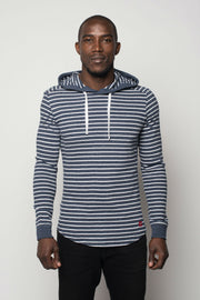 Sportiqe Men's Central Hoodie Navy