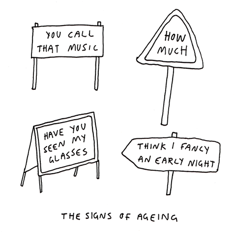 Signs of ageing