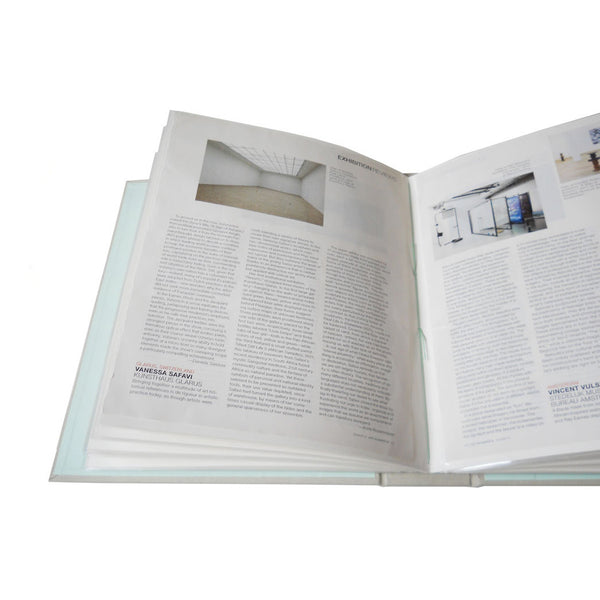magazine pages in slip in style photo album