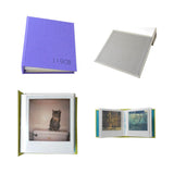 different views of polaroid photo album