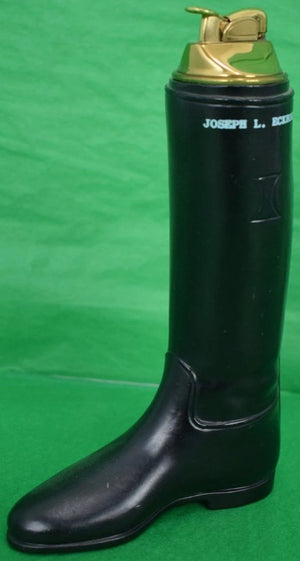 Equestrian Riding Black Boot Lighter