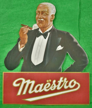 Maestro Cigar Promo Board Sign
