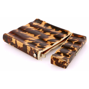 Tortoise Shell Cigarette Case