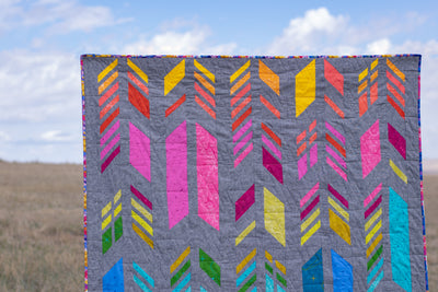 Brand New Website + Feathers Quilt Kit Debut!