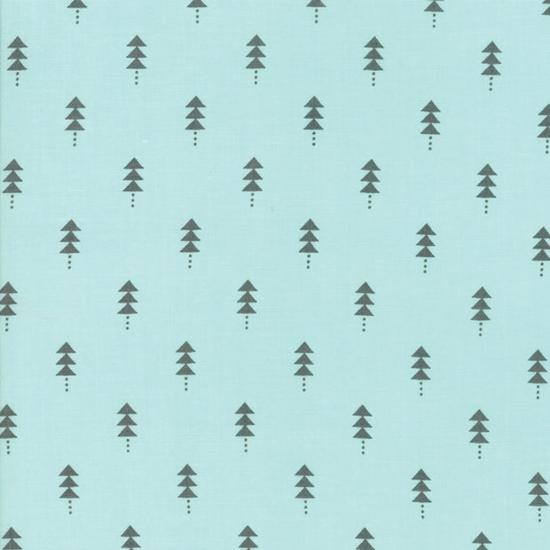 Little Tree - Tree in Frost - Lella Boutique for Moda Fabrics - 5094 16 - Half Yard
