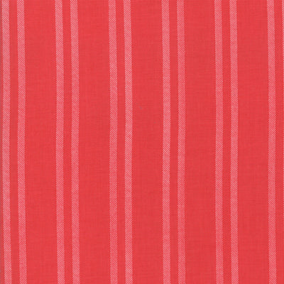 Little Tree - Stripe in Cranberry - Lella Boutique for Moda Fabrics - 5096 13 - Half Yard
