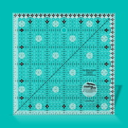 "Creative Grids - 6"" x 6"" - Clear Grip Ruler - CGRBR2"
