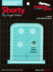 Angela Walters, Creative Grids, Machine Quilting Tool, Shorty
