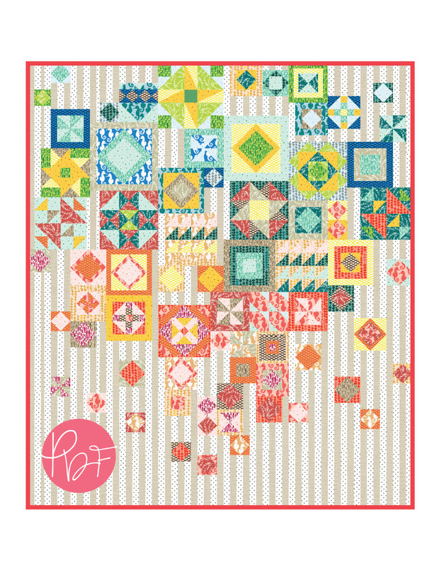 Gypsy Wife Coloring Sheet - Pink Door Fabrics