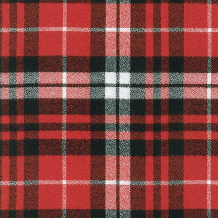 Mammoth Flannel in Scarlet Plaid