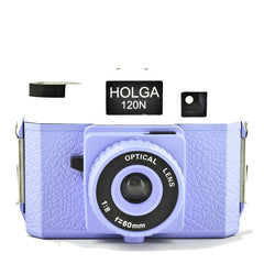 Holga 120 N (Blue & White)