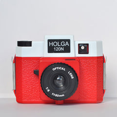 Holga 120 N (Red & White)