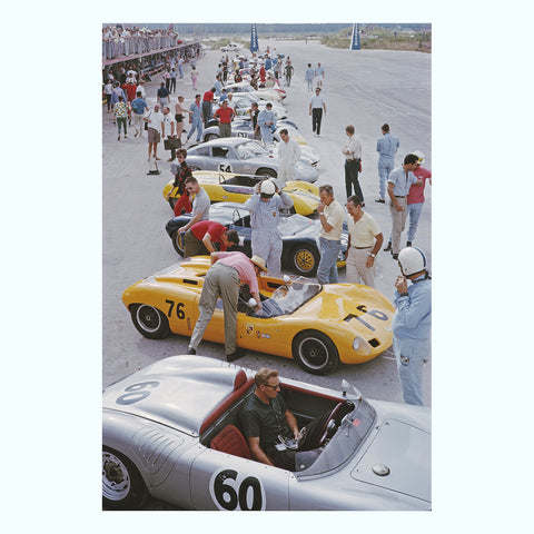 Nassau Speed Week Art Print
