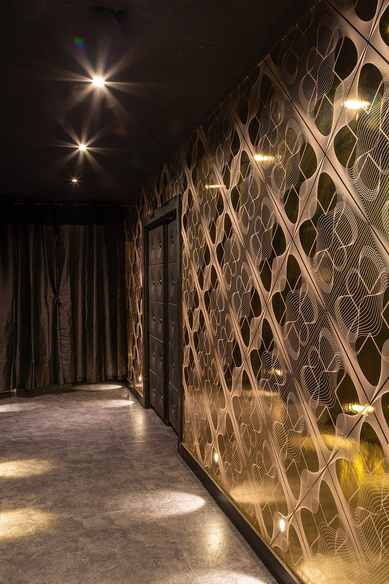 Bespoke Wallpaper, Jade Restuarant, Soho London