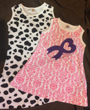 SALE-Girls Customizable Print Dresses