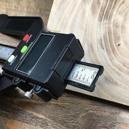 Digital Depth Ruler For Woodworking