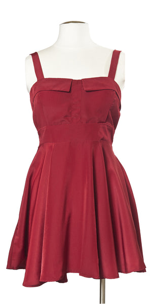 Nob Hill Night Out Dress in Pomegranate