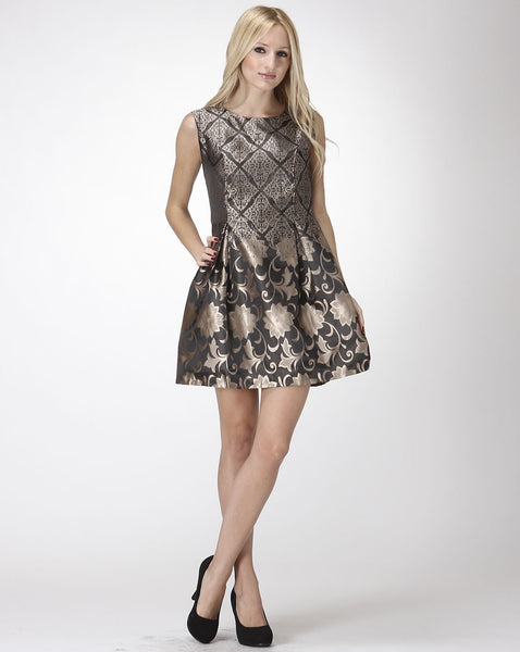 Chandelier Shadows Dress