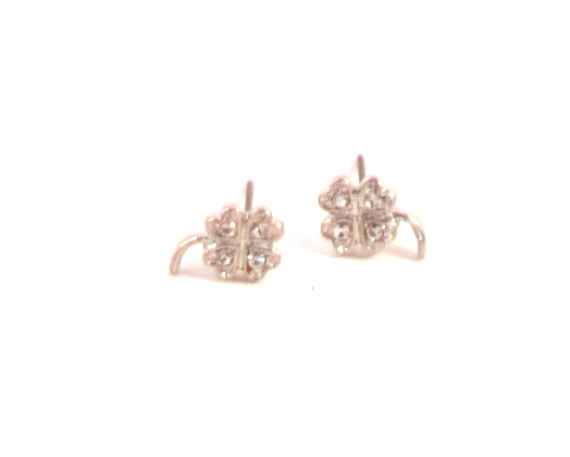 Best Of Luck Earrings in Silver