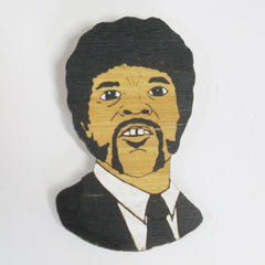 Brooch Jules Pulp Fiction Samuel L. Jackson handmade